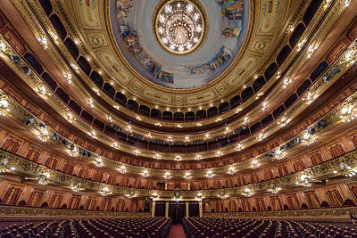 Teatro Colon Performers View Poster