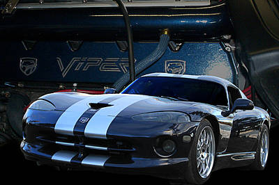 Ted 950 Hp Viper Poster by Jim  Hatch