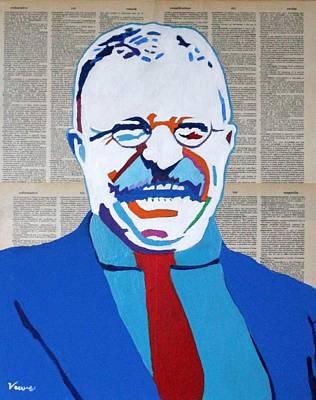 Teddy Roosevelt Poster by Venus