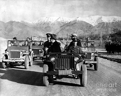 Tehran Conference, 1943 Poster