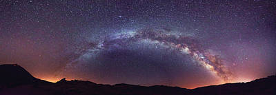 Poster featuring the photograph Teide Milky Way by James Billings