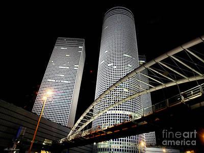 Tel Aviv Azrieli Towers Poster