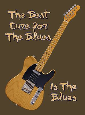 Tele Blues Cure Poster