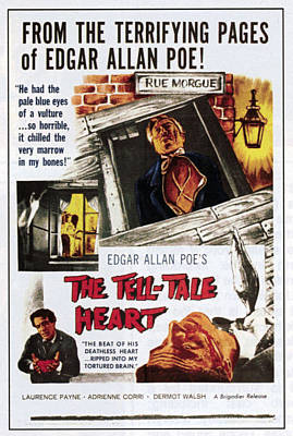 Tell-tale Heart, Bottom Right Dermot Poster