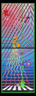 Telletubbies 4orever Poster by Bedard Art