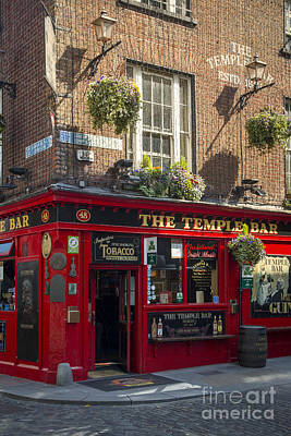 Temple Bar - Dublin Ireland Poster by Brian Jannsen