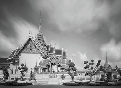 Temple Of The Emerald Buddha Thailand Bangkok Wat Phra Kaew  Poster