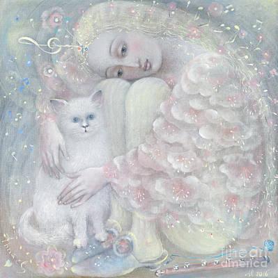 Tenderness Poster by Annael Anelia Pavlova