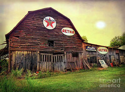 Tennessee Barn Poster by Marion Johnson