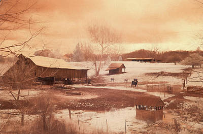 Tennessee Farmland Poster by Jim Cook