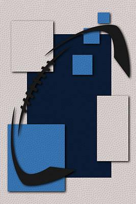 Tennessee Titans Football Art Poster by Joe Hamilton