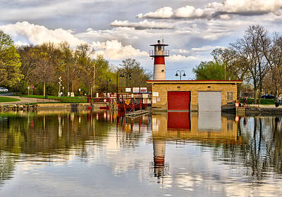 Tenney Lock - Madison - Wisconsin Poster