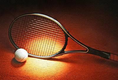 Tennis Racket Poster