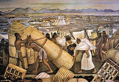 Tenochtitlan (mexico City) Poster