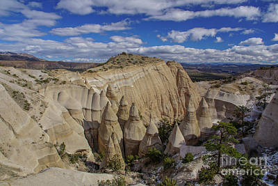 Tent Rocks National Monument Poster by Brian Kamprath