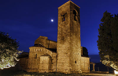 Tenth Century Church In Artimino Poster