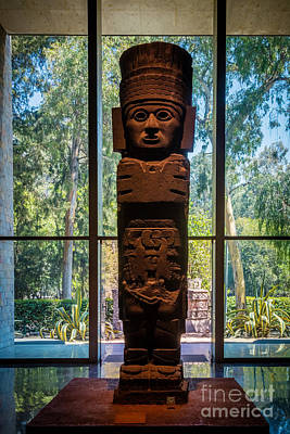 Teotihuacan Figure Poster by Inge Johnsson
