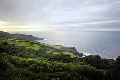 Terceira Coast, The Azores Poster