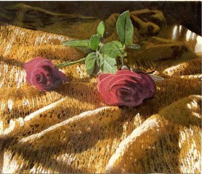 Teri's Roses Poster