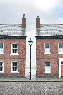 Terraced Houses Poster by Lee Avison
