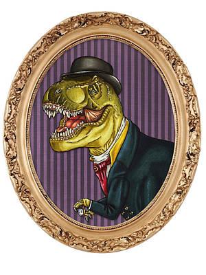 Terry The Tyrannosaurus Rex Poster