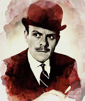 Terry Thomas, Vintage Actor Poster