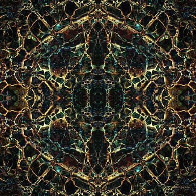 Tessellation V Poster by David Gordon