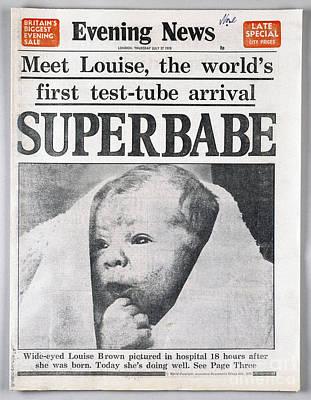 Test-tube Baby, 1978 Poster by Granger