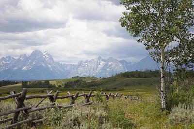 Teton Ranch Poster