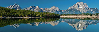 Poster featuring the photograph Teton Reflections by Gary Lengyel