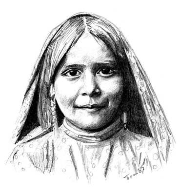 Tewa Girl Poster