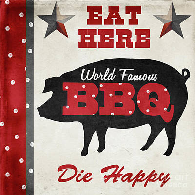Texas Barbecue II Poster