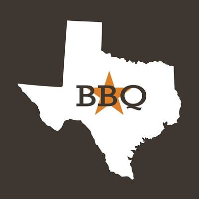 Poster featuring the digital art Texas Bbq by Nancy Ingersoll