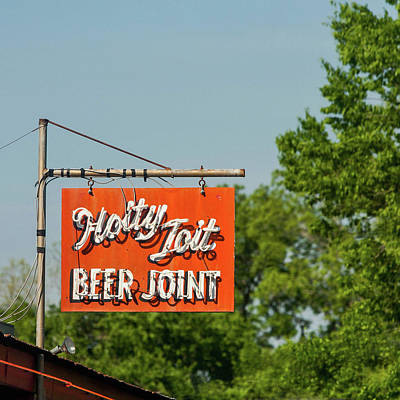 Texas Beer Joint Poster