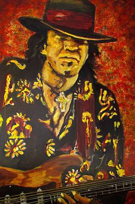 Texas Blues Man- Srv Poster