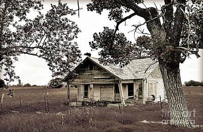 Texas Buzzard Farmhouse II Poster by Chris Andruskiewicz