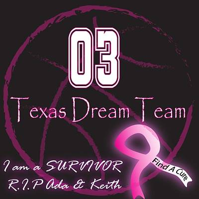 Texas Dream Team Poster by Renee Armstrong