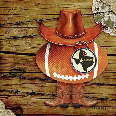 Texas Football Poster