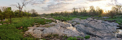 Texas Hill Country Sunrise - Llano Tx Poster