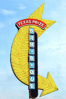 Texas Q Poster