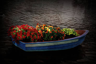 Poster featuring the photograph Texture Drama Boat Parade by Aimee L Maher Photography and Art Visit ALMGallerydotcom