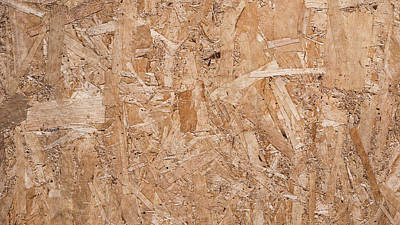Texture Of The Pressed Wood Poster