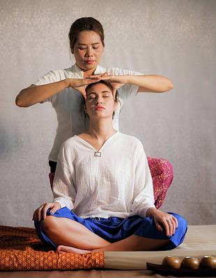 Thai Original Head Massage  Poster
