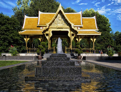 Thai Pavilion - Madison - Wisconsin Poster