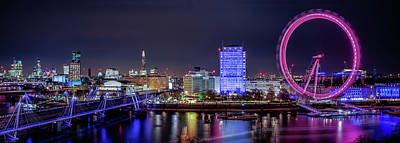 Thames Panorama Poster
