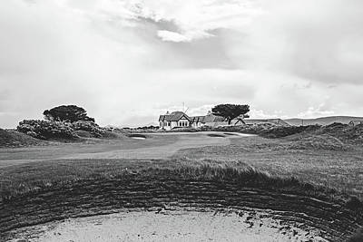 The 18th At Portmarnock Poster by Scott Pellegrin