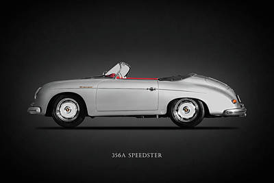 The 356a Speedster Poster