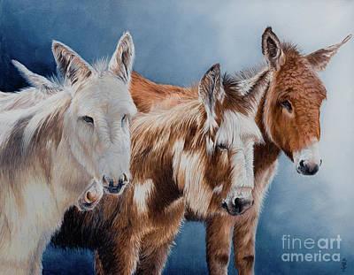 The 4 Muskateers Poster by Pauline Sharp