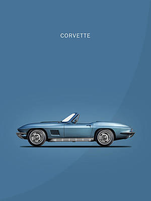 The 67 Corvette Stingray Poster