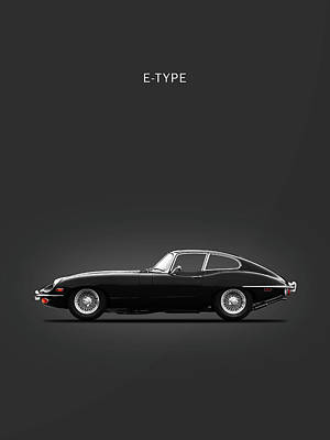 The 69 E-type Poster